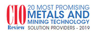 To 20 Metals And Mining Technology Solution Companies - 2019
